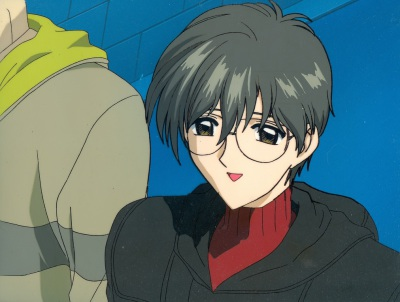 But... I was really happy that Sakura would invite me - Yukito and Toya