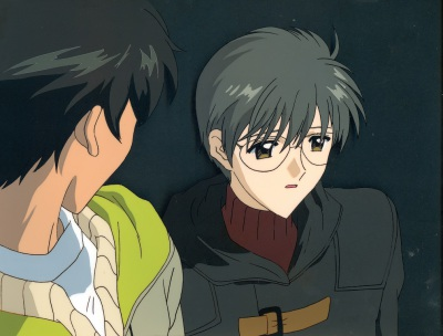 Sakura was smiling... But... I don't think she will be happy to see me... - Yukito and Toya