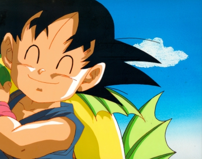 This might be enough for dinner! - Goku with a FISH! - Movie 17 - $175